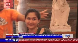 UNESCO Tetapkan 9 Tarian Tradisional Bali Sebagai Warisan Dunia