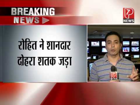 Rohit Sharma comeback with Double Century - India vs Sri Lanka