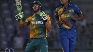 World T20- South Africa Captain Faf du Plessis Fined For Dissent - Sports News Video