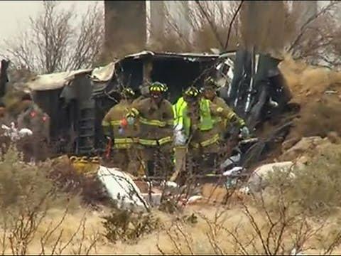 Raw- 10 Killed As Prison Bus Strikes Train in TX News Video