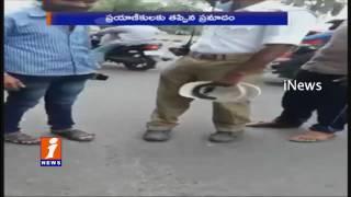 Talasani Srinivas Yadav Inspects Damaged Roads in Hyderabad   iNews
