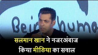 Salman Khan replies rudely to journalist