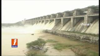 Lower Manair Dam Filled With Floods Water | Karimnagar | Updates | iNews