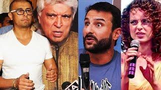 Saif Ali Khan, Kangana Ranaut, Javed Akhtar SUPPORTS Sonu Nigam - Azaan Controversy
