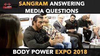 Sangram Chougule Answering Media Questions