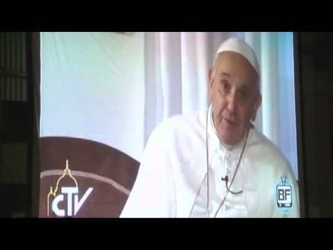 Raw- Pope Francis' Video Message to Shantytown News Video
