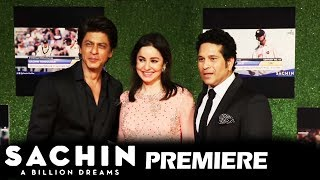 Shahrukh Khan At Sachin A Billion Dreams GRAND PREMIERE