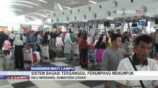 Listrik Bandara Kualanamu Padam 2 Jam