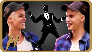 Justin Bieber's NEW Dance Move! The 'Collab'
