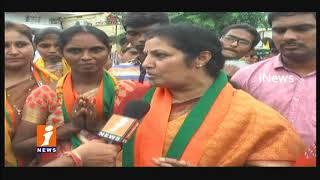 BJP Leader Purandeswari Face To Face Over Kakinada Corporation Election Campaign   iNews