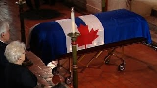 Raw- Former Mayor Rob Ford Mourned in Toronto - News Video