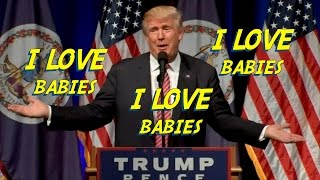Donald Trump kicks out crying baby while campaigning in Virginia