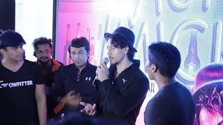 Tiger Shroff High Energy Fitness Session At The Morning Fitness Party
