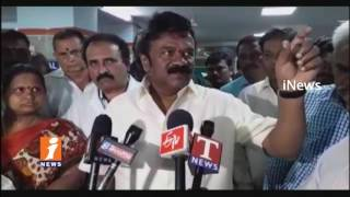 Minister Srinivas Yadav Inspect And Pink Bed Sheet Distribute In Gandhi Hospital | iNews