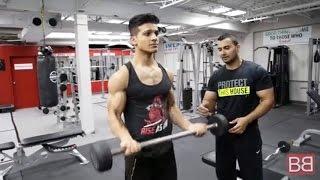 BBRT #14- Full BICEP GYM workout to gain INCHES on ARMS! (Hindi / Punjabi)