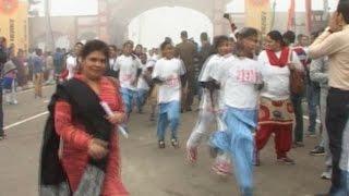 गीता जयंती पर धर्मनगरी में हुई मैराथन, हजारों लोगों ने दौडक़र बनाया नया अध्याय