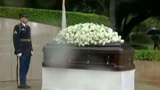 The final goodbye to Nancy Reagan