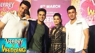 Pulkit Samrat And Kriti Kharbanda GRAND ENTRY At Veerey Ki Wedding Trailer Launch