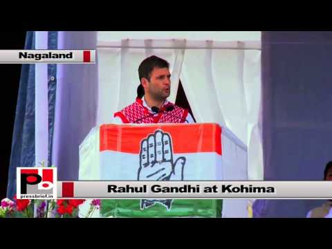 Rahul Gandhi at Nagaland- I will do whatever I can for the state