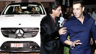 First Look Of Shahrukh's Gifted Car To Salman, Salman's Nephew Gets NEW Makeover