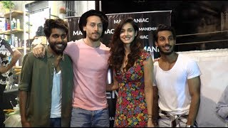 Disha Patani joins Tiger Shroff & his family at store launch