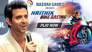 Hrithik Roshan LAUNCHES His Own Bike Racer Game