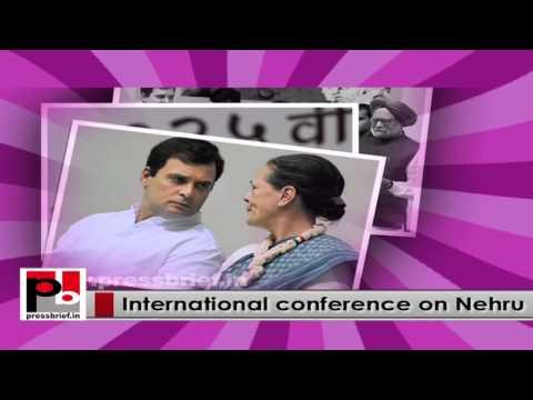 Nehru's 125th birth anniversary-Congress convenes an international conference