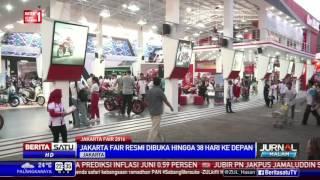 Jakarta Fair Resmi Dibuka Hingga 38 Hari ke Depan