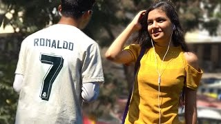Cristiano Ronaldo Picking Up Hot Girls - UEFA Champions League Prank