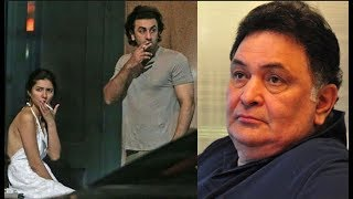 Here's how Rishi Kapoor reacts to Ranbir and Mahira's viral pictures?
