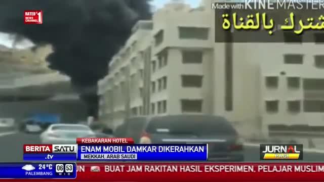 Hotel Penampungan Jemah Haji Asal Asia di Mekkah Terbakar