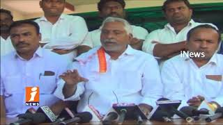 Congress MLA jeevan Reddy Comments On TRS Govt Over TS Assembly Adjournment   iNews