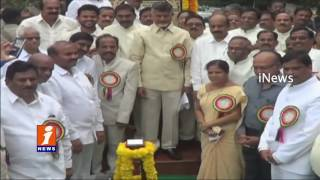 Chandrababu Attends to Acharya NG Ranga Agricultural University's 48th convocation | Bapatla | iNews