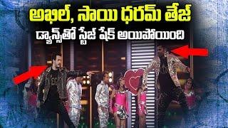 Akkineni Akhil and Sai Dharam Tej Sensational Dance Performance at IIFA | IIFA Awards 2017