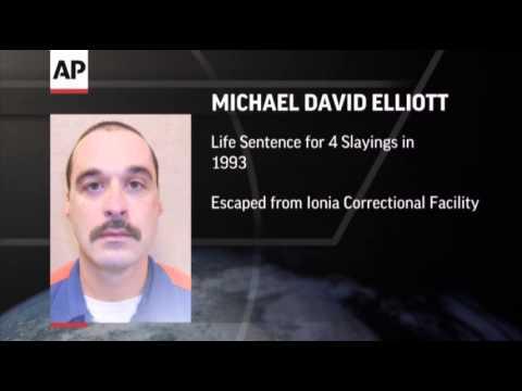 Convicted Murderer Escapes Mich. Prison News Video