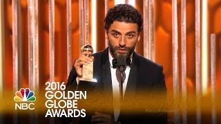 Oscar Isaac Wins Best Actor in a Limited Series or TV Movie - Golden Globes 2016