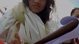 Irom Sharmila rides bicycle to file nomination for Thoubal seat