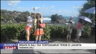 Wisata Bali Tak Terpengaruh Teror di Jakarta