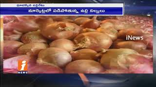 Common Man Concern On Onion Prices Rises In Telugu States | iNews