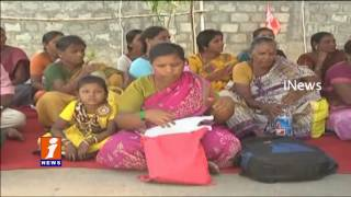 Sweepers and Watchmen Protest at DMA Of in Guntur   iNews