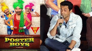 Bobby Deol's FUNNY Dialogue From Poster Boys | Poster Boys Trailer Launch
