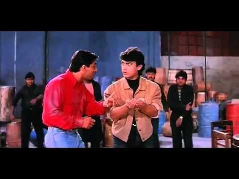 Salman, Aamir Last Scene (II) - Andaz Apna Apna - Bollywood Movie Comedy Scene