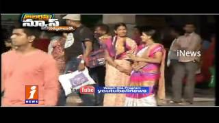 Telugu States Bus Stands Denied Free Entry | Jabardasth | iNews
