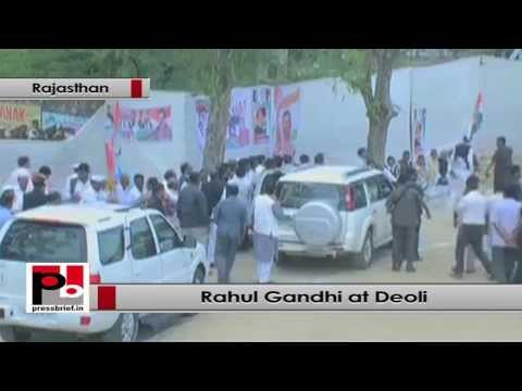 Rahul Gandhi- We want to work more for the upliftment of the poor and underprivileged