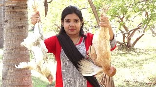 Village Style Nati chicken curry cooked by Priyanka | chicken | chicken Recipe | Village Food Bazaar