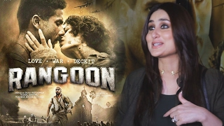 Rangoon Movie Review By Kareena Kapoor Khan - Saif Ali Khan, Kangana, Shahid Kapoor