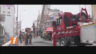 Fire Breaks Out in Chennai Silks Building at T Nagar | Situation Fail To Control | Chennai | iNews