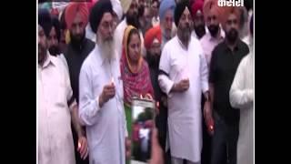 गुरप्रीत हत्याकांड के विरोध में डीएसजीएमसी ने निकाला कैंडल मार्च