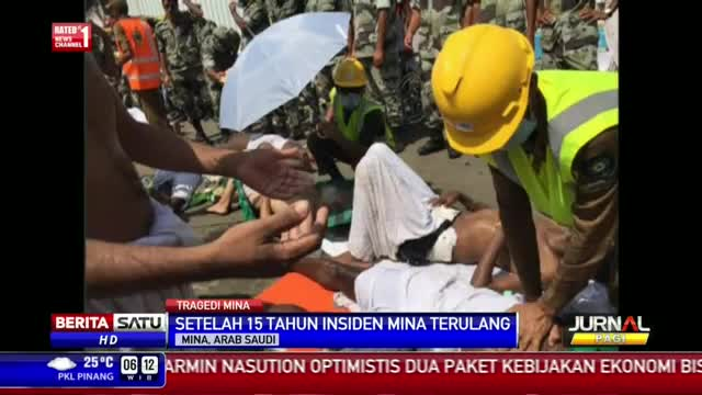 Insiden Mina, 800 Jemaah Haji Luka-luka