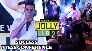 Jolly LLB 2 Success Press Meet | Full HD Video | Akshay Kumar, Subhash Kapoor